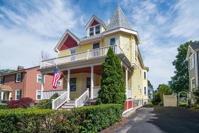 Malden, Medford, Melrose Single Family Home For Sale: 12 Orient Place