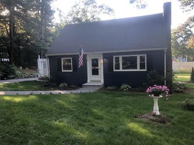 Foxboro Single Family Home For Sale: 63 Cross St