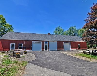 MA-Worcester County Commercial For Sale: 860 West Brookfield Road