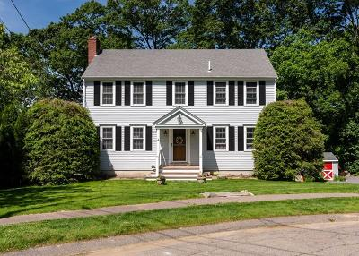 Scituate Single Family Home For Sale: 4 Three Ring Rd