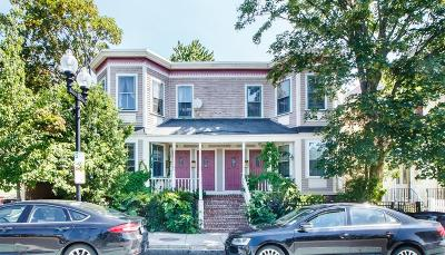Somerville Condo/Townhouse For Sale: 731 Somerville Ave #A