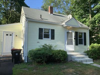 Brockton Single Family Home For Sale: 64 Coral St