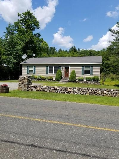 MA-Berkshire County Single Family Home For Sale: 106 Sandisfield Rd