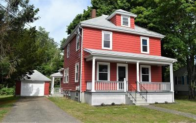 Taunton Single Family Home For Sale: 588 Whittenton St