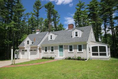 Duxbury Single Family Home New: 170 West St