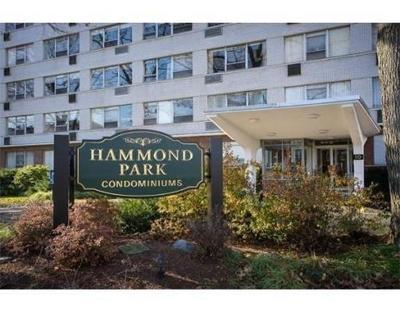 Condo/Townhouse For Sale: 10 Hammond Pond Pkwy #206
