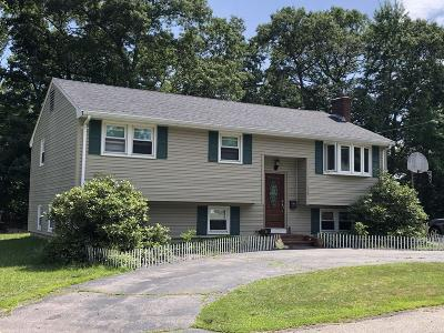 Rockland, Abington, Whitman, Brockton, Hanson, Halifax, East Bridgewater, West Bridgewater, Bridgewater, Middleboro Single Family Home New: 113 Dixon Rd