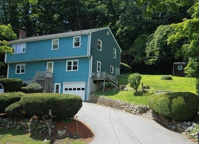 Woburn Single Family Home Under Agreement: 87 Cambridge Rd
