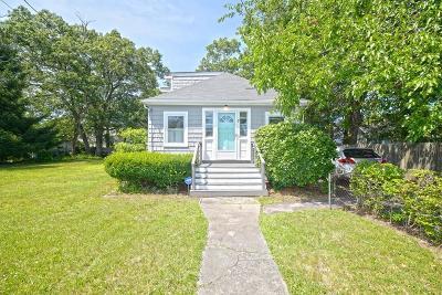Randolph Single Family Home For Sale: 7 Hall Street