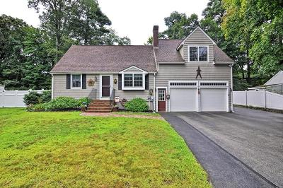 Natick Single Family Home For Sale: 16 A Hammond Rd