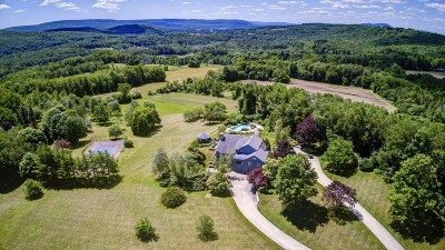 MA-Berkshire County Single Family Home For Sale: 60 Old Chesire Road