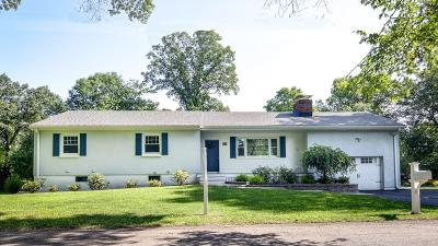 Natick Single Family Home For Sale: 12 Shady Oak Lane