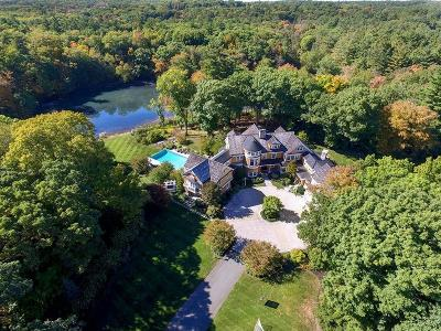 Dedham MA Single Family Home For Sale: $11,300,000