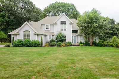 RI-Newport County Single Family Home For Sale: 37 Daniel T. Church Rd.