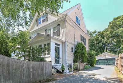 Dedham Single Family Home For Sale: 481 Washington St: Precinct 1