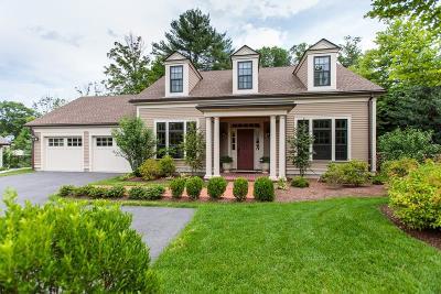 Weston Single Family Home For Sale: 1 Fox Meadow Ln #1
