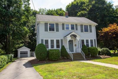 Sharon Single Family Home For Sale: 63 Brook Rd