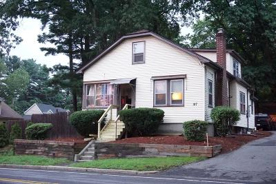 Framingham Single Family Home For Sale: 187 Beacon St
