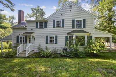 Weston Single Family Home For Sale: 96 Conant Rd