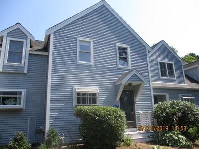 Mashpee Condo/Townhouse For Sale: 122 Shellback Way #122