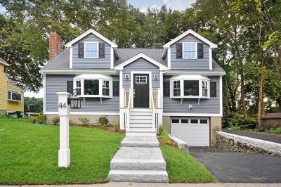 Arlington Single Family Home For Sale: 44 Dow Avenue