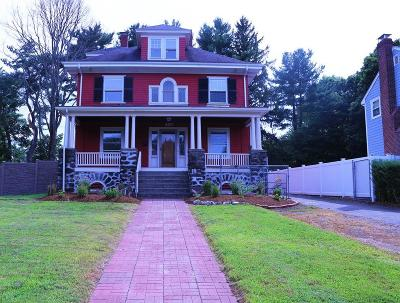 Newton Single Family Home Back On Market: 460 Crafts St