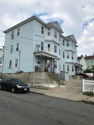 Fall River Multi Family Home For Sale: 119-121 Tremont St
