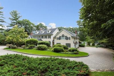 Weston Single Family Home For Sale: 289 Wellesley Street