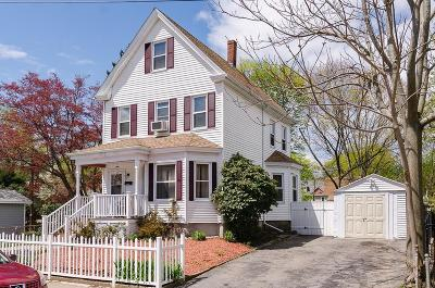 Boston Single Family Home For Sale: 174 Sycamore St
