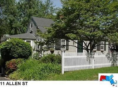 Needham Single Family Home For Sale: 11 Allen St