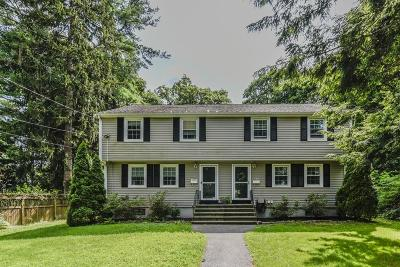 Canton Single Family Home Contingent: 177 Rockland St #177