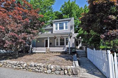 Weymouth Single Family Home Contingent: 19 Sterling St
