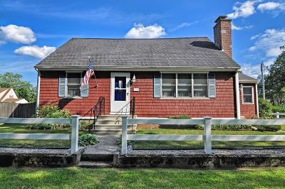 Millbury Single Family Home Contingent: 13 Elmwood Ave