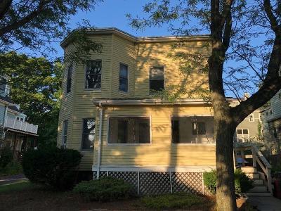 Cambridge Rental New: 153 Raymond Street #2