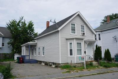 Lowell Single Family Home For Sale: 16 Barclay St