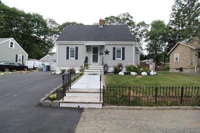 Brockton Single Family Home For Sale: 77 Woodard Ave
