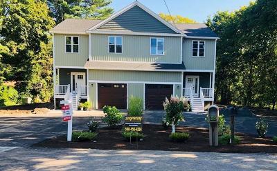 Foxboro Condo/Townhouse For Sale: 14 Winter St #A