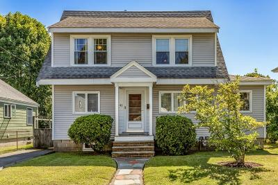 Lynn Single Family Home For Sale: 41 Casco Rd