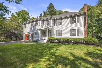Wellesley Single Family Home For Sale: 71 Donizetti Street