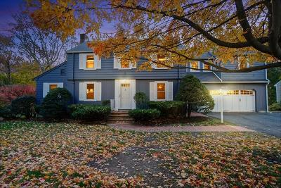 Needham Single Family Home For Sale: 87 Hunnewell St