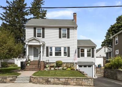 Melrose Single Family Home For Sale: 187 Melrose Street