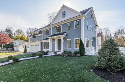 Wellesley Single Family Home For Sale: 3 Peck Ave