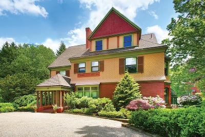 Brookline Single Family Home For Sale: 112 High Street