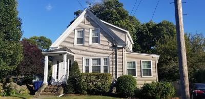 Braintree Single Family Home For Sale: 33 Pleasant St