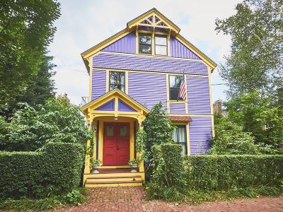 Cambridge Single Family Home For Sale: 34 Buckingham St