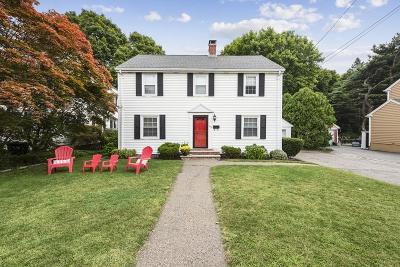 Waltham Single Family Home For Sale: 543 Lexington Street