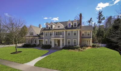 Wellesley Single Family Home For Sale: 27 Pembroke Rd