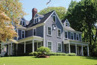 Milton Single Family Home For Sale: 320 Adams Street