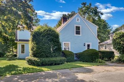 Wellesley Single Family Home For Sale: 41 Manor