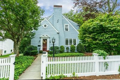 Needham Single Family Home For Sale: 538 Great Plain Ave